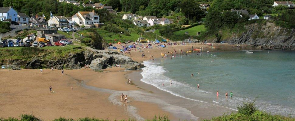 Beaches in Cardigan Bay