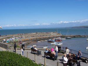 Cardigan Bay Coast in Wales