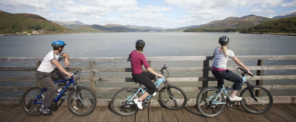 Cycling in Snowdonia - Wales